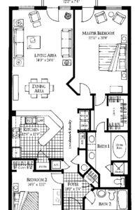 Floor plan atlantic east condominium